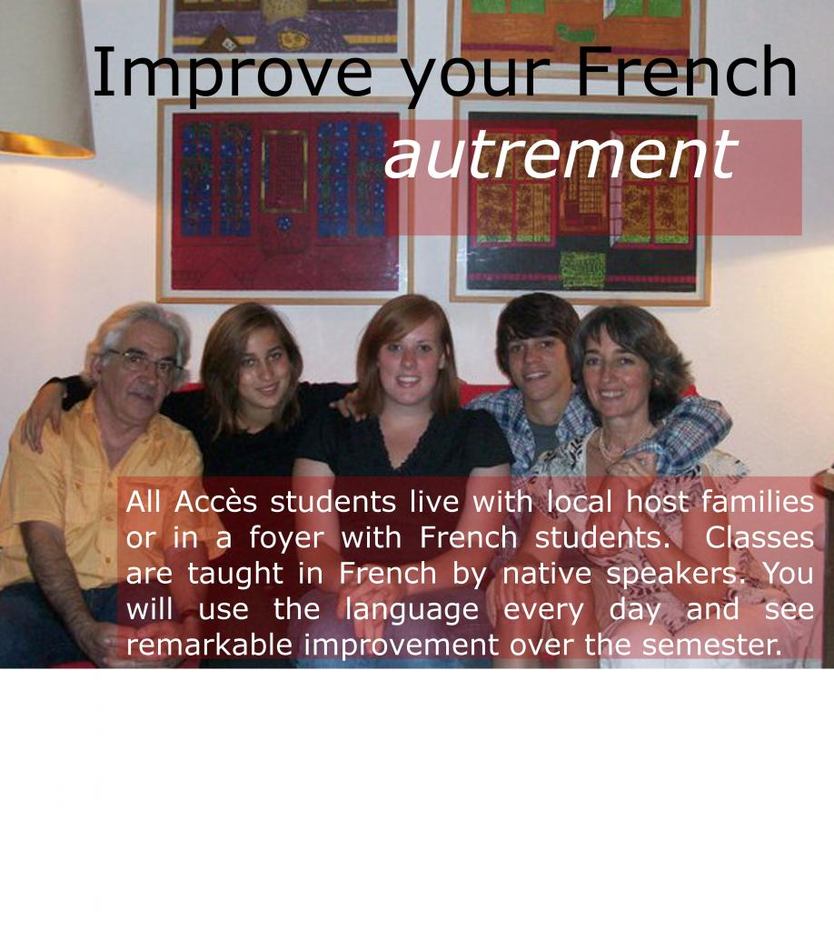 Improve your French autrement