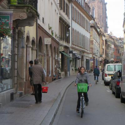 Bike shelsea square