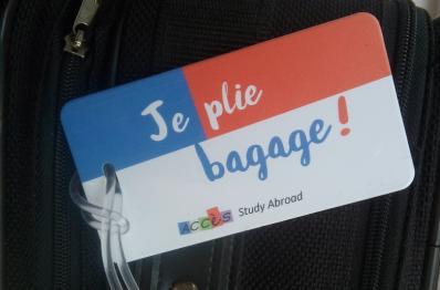 Je plie bagage!