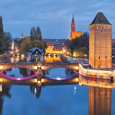 Pont vauban square