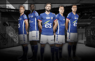 Rc strasbourg maillots