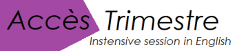 Trimestre logo purple