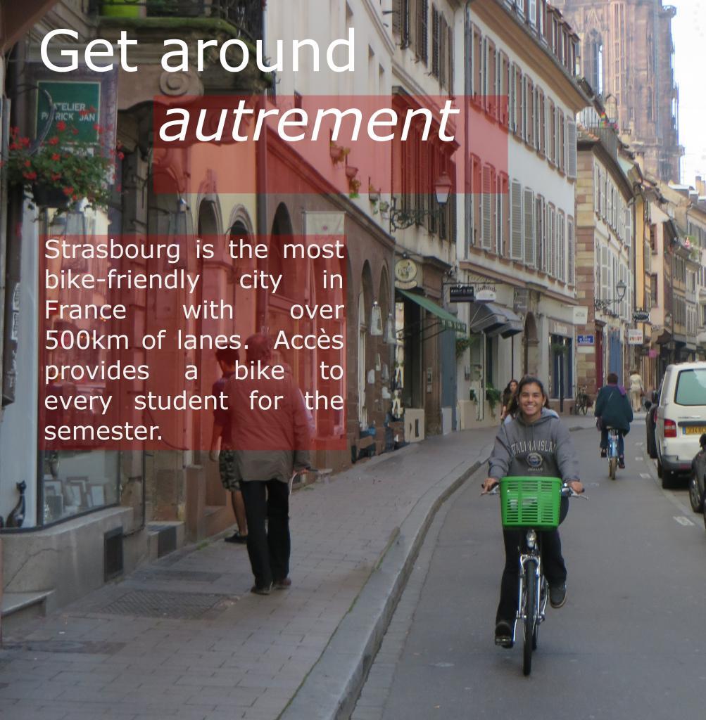 Get around autrement