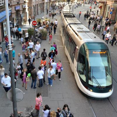 Block tram