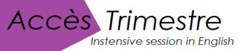 Trimestre logo purple